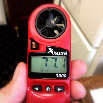 Handheld Anemometer Battery Replacement